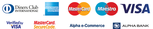 AlphaCommerce Accepted Credit Cards - VISA Mastercard Maestro AMEX